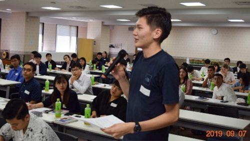 奨学生の集い